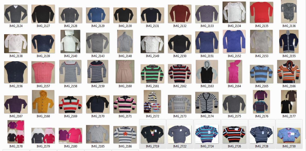 Branded Surplus or Stock lot Garments